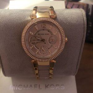 Michael Kors Rose Gold/Blush Watch